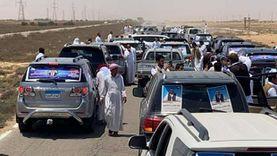 """مسيرة سيارات تجوب مدن مطروح لتأييد مرشحي مستقبل وطن لـ""""الشيوخ"""""""