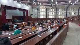 انطلاق امتحانات جامعة المنصورة وسط إجراءات احترازية مشددة