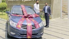 بنك مصر يُسلّم سيارة موديل 2020 للفائز في الحملة التسويقية لتشجيع استخدام بطاقات البنك