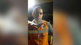 مسعف بحريق طريق الإسماعيلية : 17 مصابا بـاختناقات وحروق درجة ثالثة