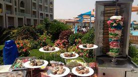 «شاورما سي فود».. أشهر الأطباق على مائدة رمضان بفنادق الغردقة