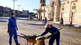 محافظ مطروح يشدد على رؤساء المدن تكثيف جهود النظافة