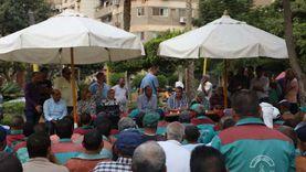 رئيس «نظافة القاهرة» يبحث توفير وسيلة مواصلات للعمال