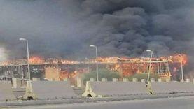 حريق الكريمية بطرابلس يتزامن مع مؤتمر دعم استقرار ليبيا