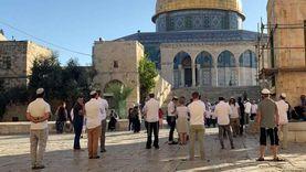 69 مستوطنا يقتحمون باحات المسجد الأقصى