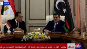 مصطفى مدبولي: لن نتأخر عن دعم ليبيا في جائحة فيروس كورونا