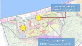 """""""الوطن"""" تنشر المواقع المقترحة للاستثمار بمدينة دمياط الجديدة"""