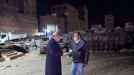 رفع 600 طن قمامة بحي شرق شبرا الخيمة