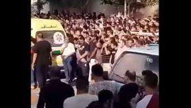 جنازة جماعية لضحايا عقار المحلة في نبروه بالدقهلية