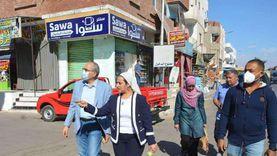 تحويل شارع المنشية بطور سيناء إلى ممشى سياحي