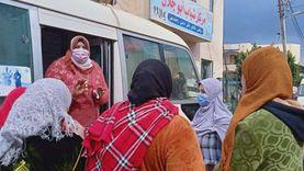 الكشف على 400 سيدة بقوافل الصحة الإنجابية في الدقهلية ضمن «حياة كريمة»