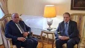 شكري ونائب وزير الخارجية الروسي يبحثان المشروعات والملفات المشتركة