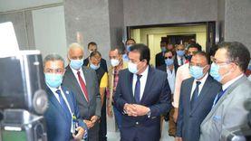 وزير التعليم العالي ورئيس جامعة الإسكندرية يفتتحان أعمال التطوير بطب الإسكندرية بقيمة 65 مليون جنيه