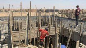 «حدائق أكتوبر» يوقف أعمال بناء مخالف بقطعتي أرض في جاردينيا 1