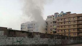 السيطرة على حريق ببعض المخلفات بحرم محلج القناطر الأثري