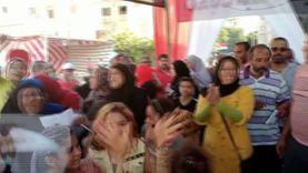 زحام في طوابير لجان انتخابات الشيوخ بالسيدة زينب