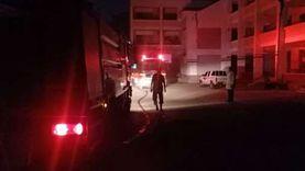 السيطرة على حريق في تشوينات أعلى مسجد مدرسة بالقليوبية