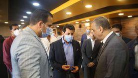 وزير الرياضة ومحافظ سوهاج يفتتحان ناديا صحيا بمنطقة الكورنيش