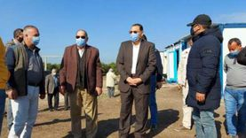 محافظ الشرقية يتابع تنفيذ مشروع الصرف الصحي بقريتي «التلين والقبة»