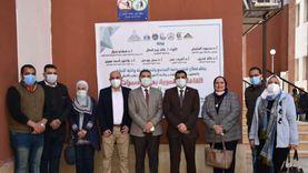 انطلاق القافلة التنموية الشاملة لجامعة عين شمس بحي الأسمرات (صور)
