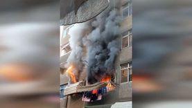 ماس كهربائي يتسبب في حريق يلتهم 5 من أسرة واحدة في عزبة النخل