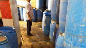 """ضبط مصنعين للعصيروالمخلل """"غير مُرخصين"""" في حملة ببني سويف"""