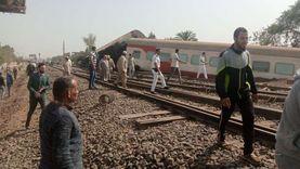 الدفع بـ22 سيارة إسعاف لنقل مصابي حادث قطار بنها