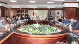 محافظ بني سويف يعقد الاجتماع الدوري بأعضاء مجلسي النواب والشيوخ