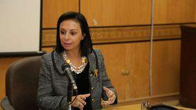مايا مرسي لـ رئيس مجلس الشيوخ: المرأة المصرية في يد أمينة