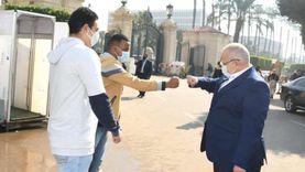 صور.. جامعة القاهرة تواجه كورونا بتشديد الإجراءات الاحترازية