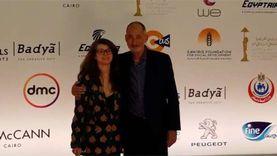 السفير المكسيكي وزوجته على الريد كاربت في ثالث أيام القاهرة السينمائ
