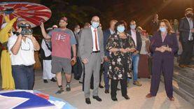 وزيرة الثقافة تفتتح فعاليات الدورة 13 من مهرجان الحرف التقليدية