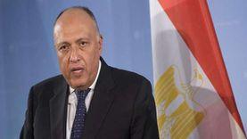 وزير الخارجية يشارك في الاجتماع الرباعي بشأن القضية الفلسطينية بعمان