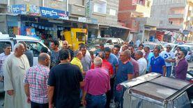 مرشح القائمة الوطنية من أجل مصر يزور كنيسة الروم بدمياط