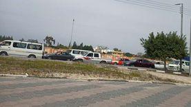 مصرع شاب وإصابة اثنين في حادث على الطريق الدائري باتجاه المتحف الكبير
