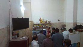 بالصور.. تحرير 55 مخالفة في حملات مرافق وإشغالات بالمحلة