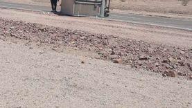 إصابة خمسة أشخاص في حوادث سير متفرقة بجنوب سيناء