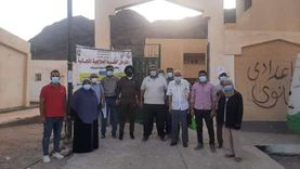 حملة للكشف عن سوء التغذية والتوعية بكورونا في مدارس جنوب سيناء