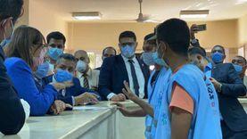4 وزراء يفتتحون وحدة طب الأسرة بالشيخ زين الدين في سوهاج