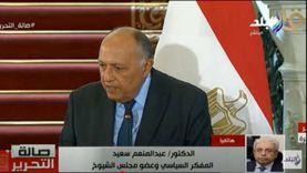 عبدالمنعم سعيد: اتصال أمير قطر لتهنئة الرئيس السيسي برمضان تطور إيجابي