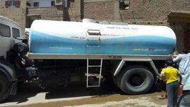 5 سيارات لتوزيع المياه على أهالي الشيخ زويد لحين تصليح محطة أبو طويلة