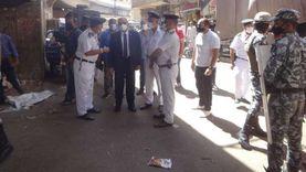 حملة لإزالة الإشغالات بمنطقة «أبو الجود» بمحافظة الأقصر