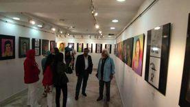 54 لوحة في معرض بصمات الأطفال الرابع بالإسكندرية.. أبرزهم المسجد الأقصى