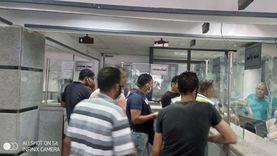 إقبال على تقديم الطلبات بالمركز التكنولوجي لخدمة المواطنين ببورسعيد