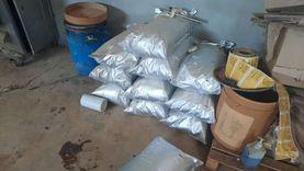 ضبط مصنع لتعبئة الأدوية والمكملات الغذائية «المغشوشة» في بلبيس
