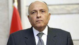 """""""شكري"""" و""""بومبيو"""" يبحثان القضية الليبية وملف سد النهضة"""