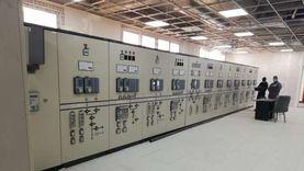 إطلاق التيار الكهربائي بمحطة محولات المنطقة الصناعية بالتجمع الثالث