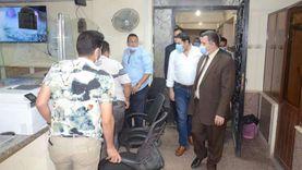 نائب محافظ بني سويف يكرم نواب رئيس مدينة ببا ورؤساء القرى و35 موظفا