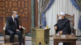 شيخ الأزهر يوصي سفير مصر بهولندا برفع مستوى التعاون العلمي والثقافي