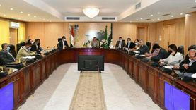 محافظ الفيوم يترأس أولى اجتماعات لجنة التنمية الاقتصادية وفرص العمل